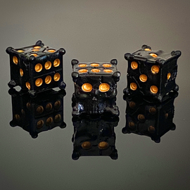 Buy Tiny Epic Pirates Skull Dice Upgrade from Out of Town Games