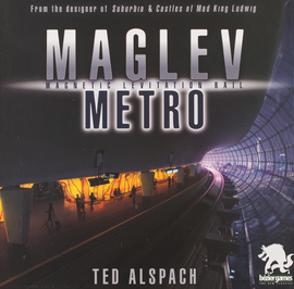 Buy Maglev Metro Board Game from Out of Town Games