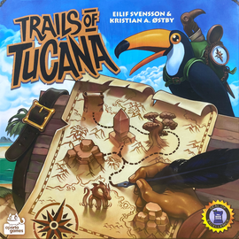 Buy Trails of Tucana Flip and Write Game from Out of Town Games