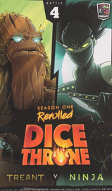 Buy Dice Throne: Season One Rerolled, 4 Treant vs Ninja Board Game from Out of Town Games