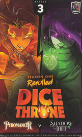 Buy Dice Throne: Season One Rerolled, 3 Pyromancer vs Shadow Thief Board Game from Out of Town Games