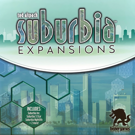 Buy Suburbia 2nd Edition Expansions Board Game from Out of Town Games