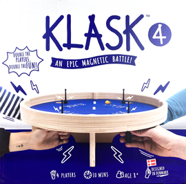 Buy Klask 4 Player Dexterity Game from Out of Town Games