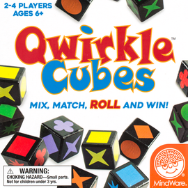 Buy Qwirkle Cubes and other family puzzle games from Out of Town Games