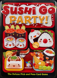 Buy Sushi Go Party! and other family card games from Out of Town Games