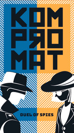 Buy Kompromat two player card game from Out of Town Games