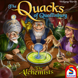 Buy Quacks of Quedlinburg The Alchemists expansion and other family games from Out of Town Games