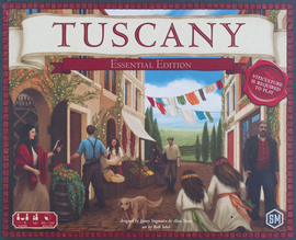 Buy Tuscany Essential Edition and other Stonemaier Board Games from Out of Town Games