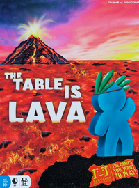 Buy The Table is Lava board game and other fun dexterity games from Out of Town Games
