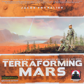 Buy Terraforming Mars award winning strategy game from Out of Town Games