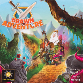 Buy Drawn To Adventure Roll and Write Game from Out of Town Games