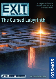 Buy Exit The Game: The Cursed Labyrinth from Out of Town Games! Escape Room game