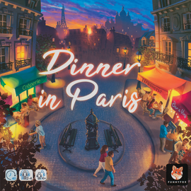 Buy Dinner in Paris and other strategy board games from Out of Town Games