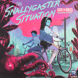 Buy The Snallygaster Situation: Kids on Bikes Board Game and other cooperative board games from Out of Town Games