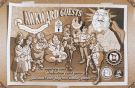 Buy Awkward Guests: The Walton Case deduction board game from Out of Town Games