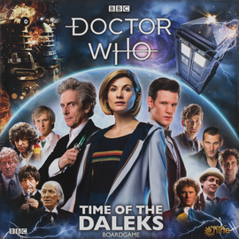 Buy Doctor Who: Time of the Daleks cooperative board game from Out of Town Games