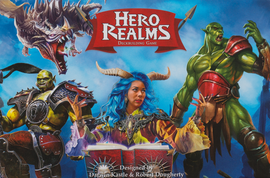 Buy Hero Realms Deckbuilding Game two player card game from Out of Town Games