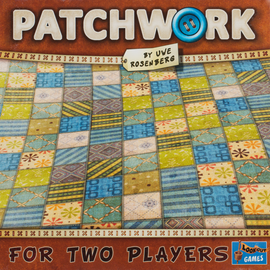 Buy Patchwork two player classic board game from Out of Town Games