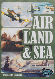 Buy Air, Land, & Sea two player card game from Out of Town Games