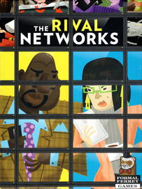 Buy The Rival Networks two player competitive game from Out of Town Games