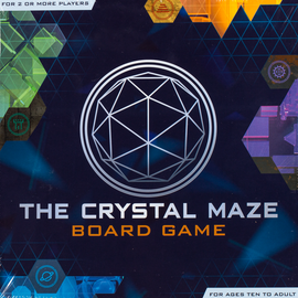 The Crystal Maze Board Game, Buy the TV puzzle game from Out Of Town Games