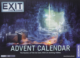 Buy Exit The Game: Advent Calendar The Mystery of the Ice Cave from Out of Town Games! Escape Room game
