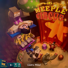 Buy Meeple Circus, dexterity board game from Out of Town Games