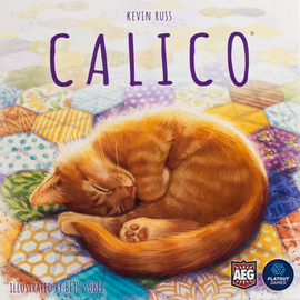 Buy Calico, puzzle board game from Out of Town Games