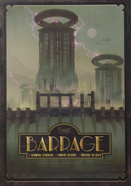 Buy Barrage award winning  strategy board game from Out of Town Games