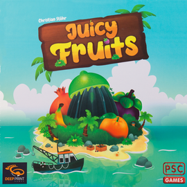 Buy Juicy Fruits, family board game from Out of Town Games
