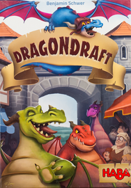Buy Dragondraft HABA family card drafting game from Out of Town Games