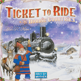 Buy Ticket to Ride Nordic Countries Two Player Board game from Out of Town Games