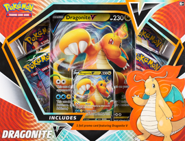 Buy Pokémon TCG Dragonite V Box  from Out of Town Games