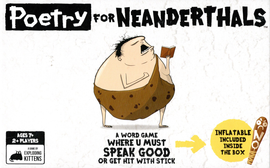 Buy Poetry for Neanderthals board game from Out of Town Games