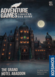 Buy Adventure Games: The Grand Hotel Abaddon from Out of Town Games! Family Choose Your Own Adventure game