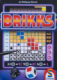 Buy Brikks and other roll and write games from Out of Town Games