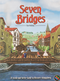 Buy Seven Bridges and other roll and write games from Out of Town Games