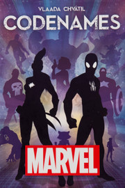 Buy Codenames Marvel party card game from Out of Town Games