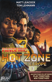Buy Pandemic Hot Zone Europe cooperative board game from Out of Town Games