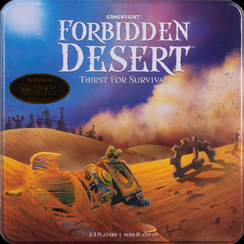 Buy Forbidden Desert and other family co-operative games from Out of Town Games