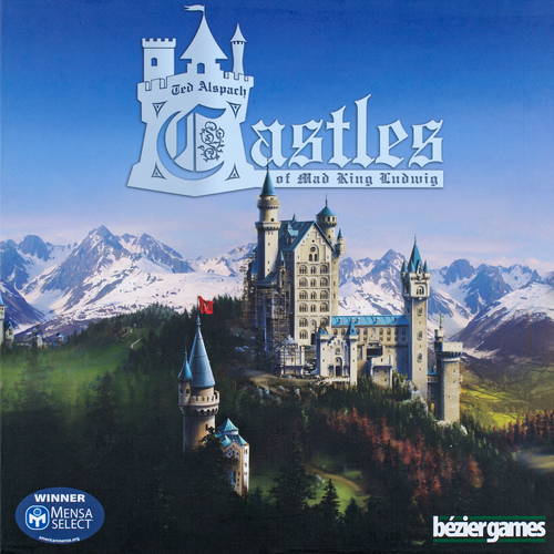 Castles of Mad King Ludwig Buy Great Board Games from Out of Town Games