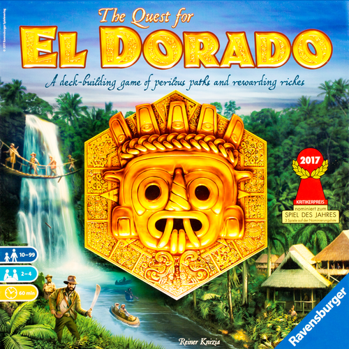Buy The Quest for El Dorado Board Game from Out of Town Games