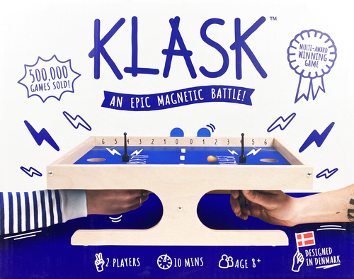 Buy KLASK Two Player Dexterity Game from Out of Town Games
