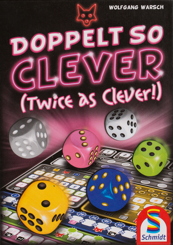 Buy Doppelt So Clever and other roll and write games from Out of Town Games