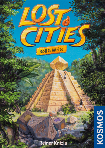 Buy Lost Cities Roll & Write and flip and write Games from Out of Town Games