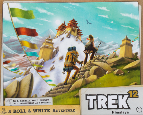 Buy Trek 12 Roll and Write game from Out of Town Games