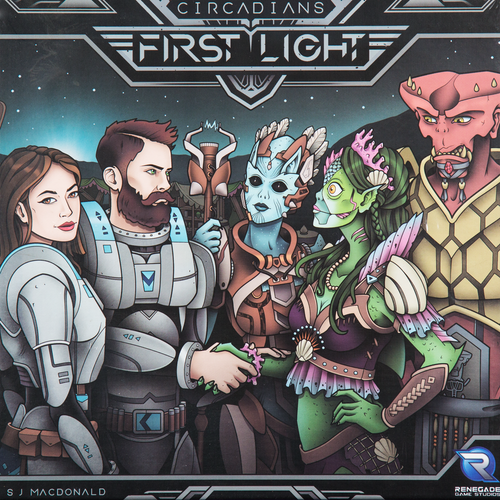 Buy Circadians: First Light and other strategy games from Out of Town Games