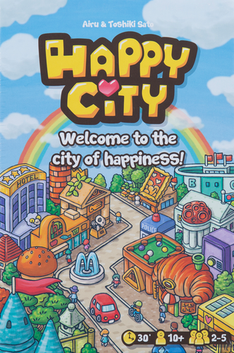 Buy Happy City and other family card games from Out of Town Games