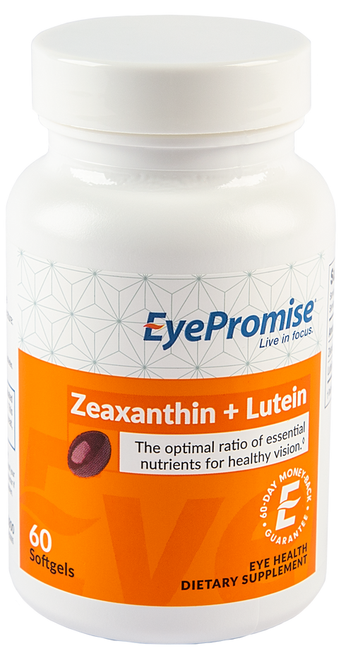 EyePromise Zeaxanthin + Lutein is an eye vitamin that delivers the 2 essential antioxidants for healthy, lasting vision.