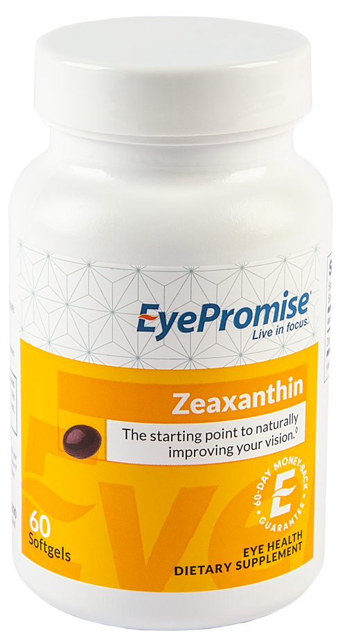 EyePromise Zeaxanthin is an eye health nutraceutical that delivers the most critical carotenoid for healthy vision.